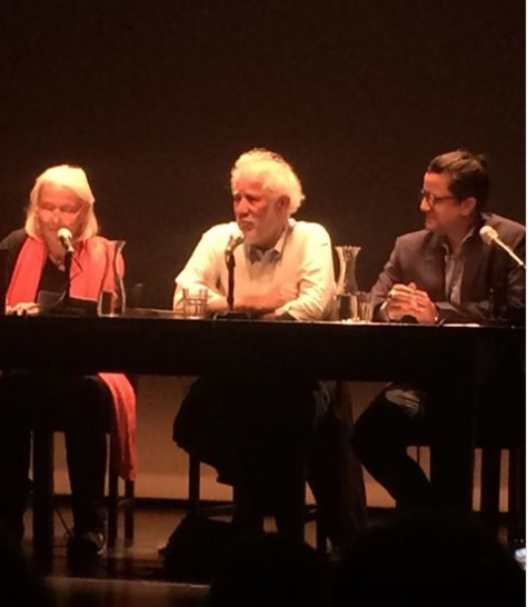 Ondaatje beim Internationalen Literaturfestival